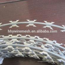 Precio de alambre de púas de púas de alambre de púas galvanizado en caliente alambre de púas SS304