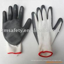 Nitrile coated safety glove
