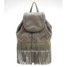 2015 Hot Selling New Arrvial Fashion Studded Fringe Backpack