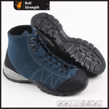Industrial Geniune Leather Safety Shoes with Rubber Sole (SN5320)