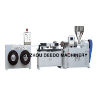 PE Plastic Wire Protection Flexible Tube Production Line/Extrusion Line