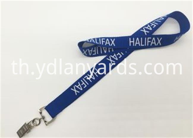 Silk Screen Lanyards Details