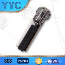 Cierre de cremallera de metal con a / L, cremallera de plástico sin bloqueo
