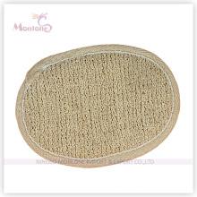 12 * 9.5cm éponge de douche de bain de chanvre de sisal ovale