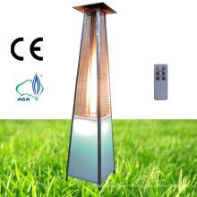 Chauffe-patio à gaz à gaz LED Chauffage à gaz extérieur à gaz