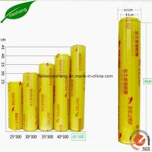 Food Grade PVC Cling Film PE Stretch Package Film
