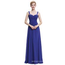 Starzz Sweetheart Sleeveless Royal Blue Chiffon Evening dress Long ST000065-3