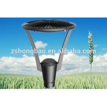 IP66 lámpara de jardín 110Lm / w BridgeLux chips luces de jardín LED con conductor meanwell / iluminación LED al aire libre