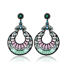 Trendy Bohemia Style Resin Stone Earring (XER13101)