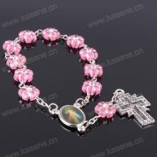 China Hersteller Günstige Katholische Rosenkranz Damen Armband Modelle