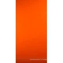 Panneau UV orange coloré pour les armoires de cuisine (zh-939)