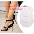 Inserções de sapato antiderrapante Almofadas para sapatos de salto alto