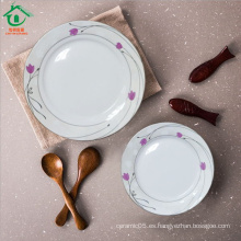 Placas de porcelana Placas rompibles de cerámica
