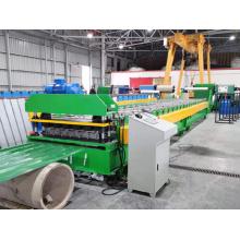 IBR Dachbahn Rollformmaschine