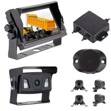 Popular Car Camera And Monitor Car Reverse Backup Radar System With 4 Radar Sensor