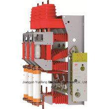 Hv interruptor de interrupción de carga (unidad combinada de fusibles) Yfzrn25-12D / T125-31.5-con interruptor de puesta a tierra