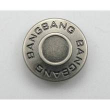 Nice silver jeans button design in cool style