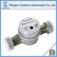 Medidor de água de jato único / medidor de água de bronze do corpo / tipo seco Medidor de água