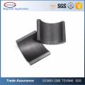 Ceramic Permanent Ferrite Segment Magnet For Ceiling Fan Motor