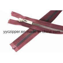Nouveau Suivre Fashion Trend Design Open End Plastic Zipper Long Chain Zipper
