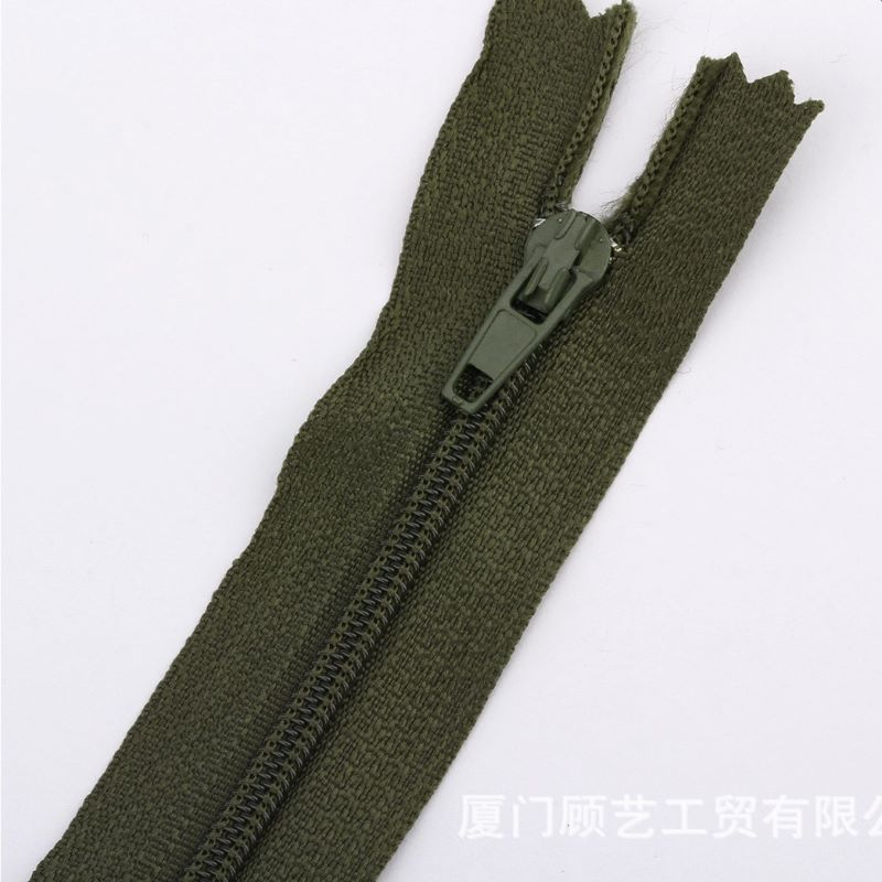 Hot sale 14inch chromatic long zippers for clothing