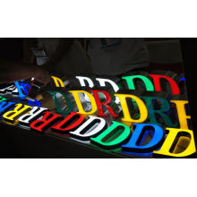 Plastic Alphabet Letters Custom 3D LED Sign