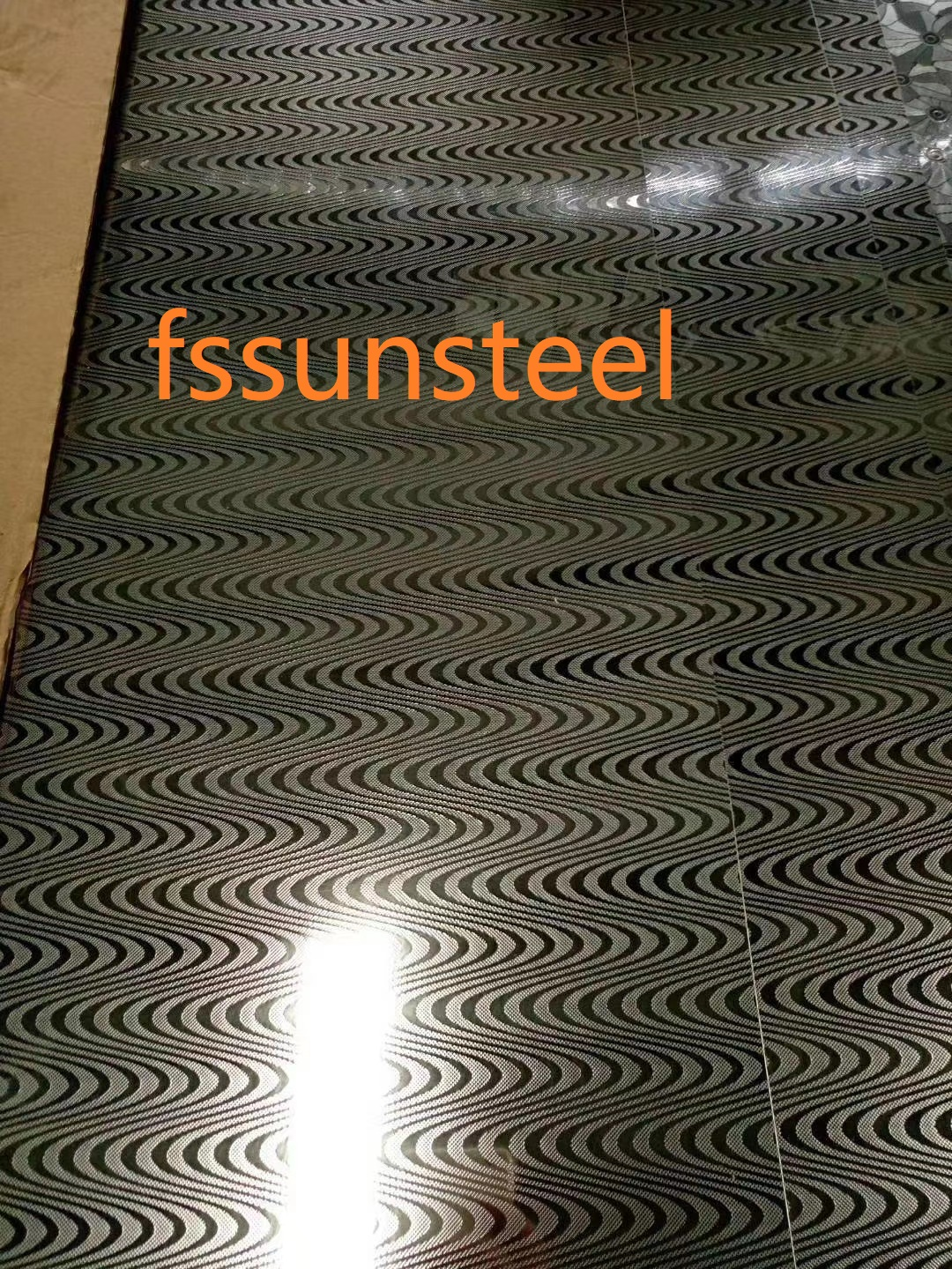304 Embossed Stainless Steel Decorative Sheets