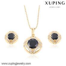 60162 Xuping fashion beautiful Italian gold plated wedding jewelry sets