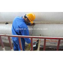 Cylindres d'acier de stockage de stationnement CNG Cascade Gas Cylinder