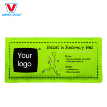 Paquetes de hielo con logo