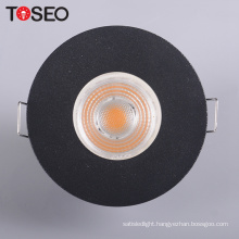 Cutting 68mm round downlight housing MR16 GU10 led downlight cover fitting