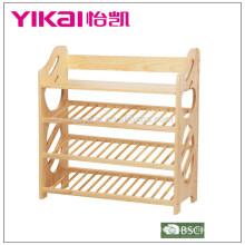 Sapateira de madeira maciça de alta qualidade