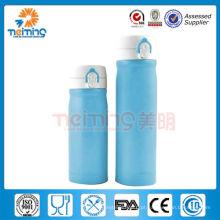 Garrafa de vácuo de parede dupla de aço inoxidável de promoção / garrafa de plástico