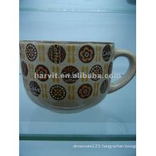 Reactive Glaze Ceramic Soup Mug