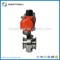 SUS304/316L Sanitary Stainless Steel Pneumatic Butterfly Valve