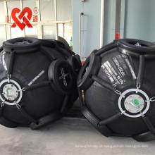 Defensor de borracha pneumático marinho da camada do sintético-pneumático-cordão da absorção de alta energia
