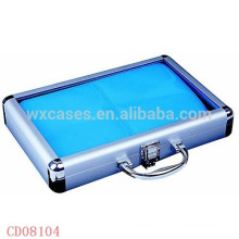 40 CD disks aluminum DVD cases with clear acrylic top wholesale