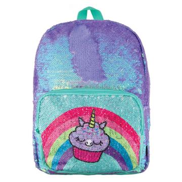 UNICORN RAINBOW  SEQUIN BACKPACK-0