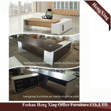 Hx-Nt3238 Black Walnut Big Side Table Cheap Price Office Desk