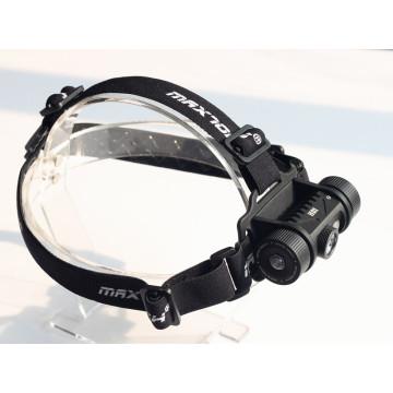 MAXTOCH H01 XM-L2 U2 LED 800lm 18650 faro recargable