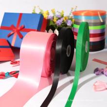 Custom 5 inch satin ribbon polyester ribbons