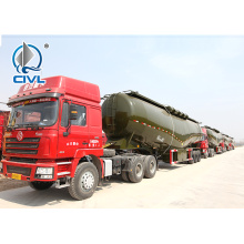 Fly Ash 3 Axle 40cbm Ciment Bulker Trailer