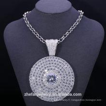 Articles promotionnels organisateur Titanium bijoux en laiton collier chaîne africaine perlée bijoux en gros bijoux lots