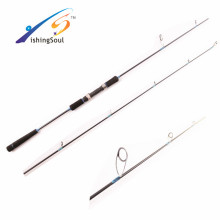 SJL005 Cañas de pescar de carbono en blanco aparejos de pesca cañas de jigging ligeras