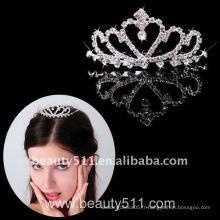 Astergarden Real Photo accessoire de mariage Tiara crown ASJ015