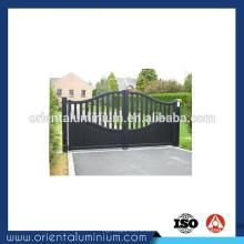 Portão de alumínio manual de alumínio personalizado