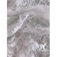 Shiny Nylon Poly Lace Knit Fabric