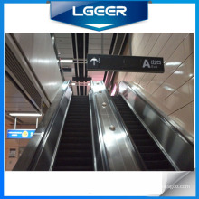 Escalator de station de métro