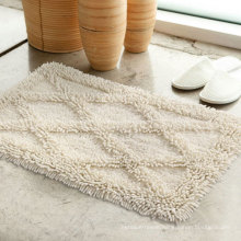 Hot Sale 100% Cotton Thick Hotel Bath Rug