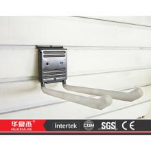 Pvc slatwall panel slatwall haken